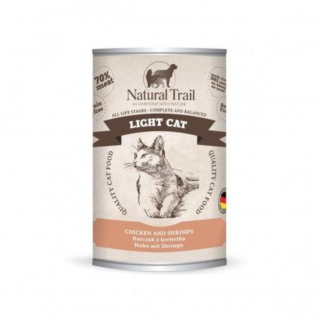 Natural Trail Light Cat - Kurczak z krewetką 400g