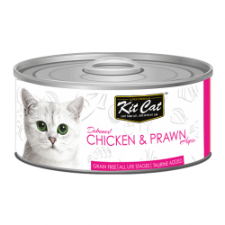 Kit Cat Chicken Prawn - kurczak z krewetką