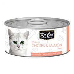 Kit Cat Chicken Salmon - kurczak z łososiem