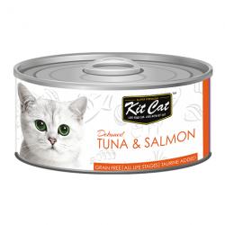 Kit Cat Tuna Salmon - tuńczyk i łosoś