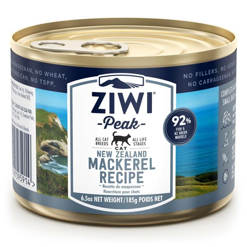 ZiwiPeak Canned Cat Food Makrela - makrela