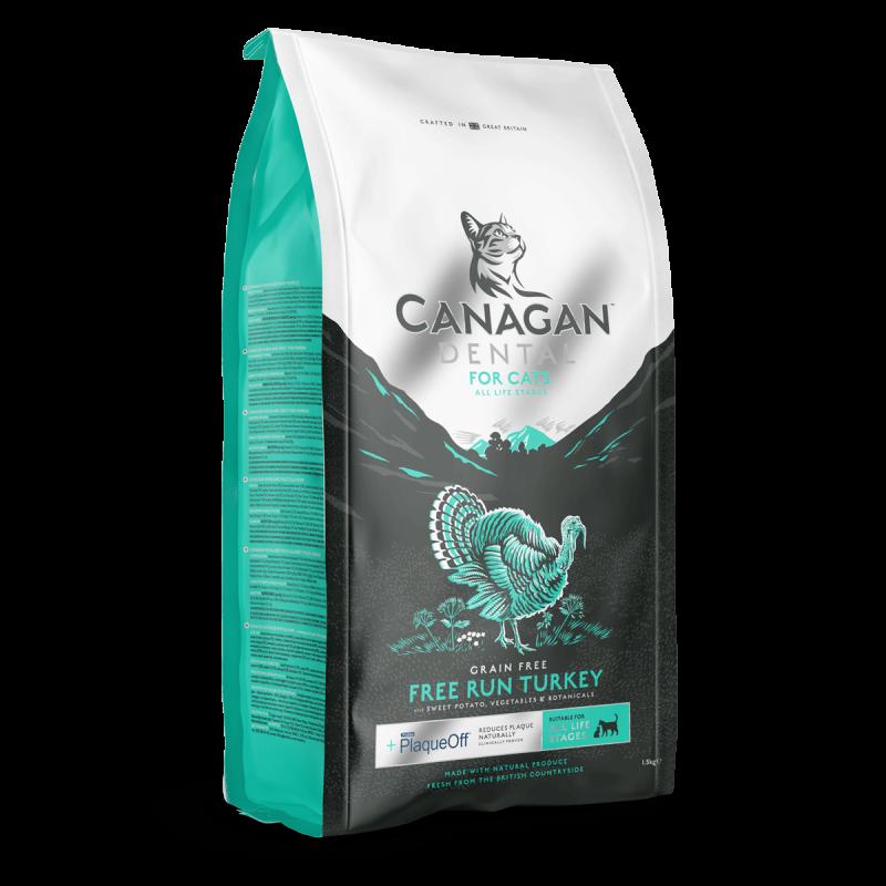 Canagan Dental Free Run Turkey Cat 375 g