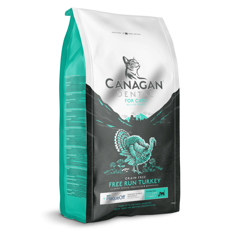 Canagan Dental Free Run Turkey Cat 1,5kg