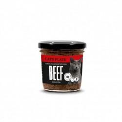 Cats Plate Beef - wołowina z indykiem 100g