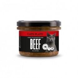 Cats Plate Beef - wołowina z indykiem 180g