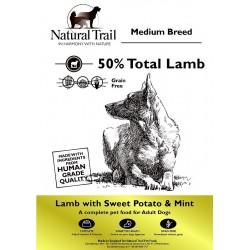 Natural Trail Grain Free Lamb, Sweet Potato & Mint 12kg