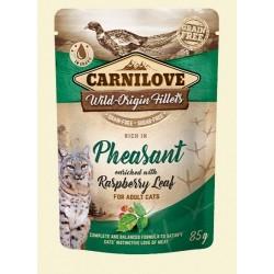 Carnilove Cat Pouch Pheasant & raspberry 85g - bażant