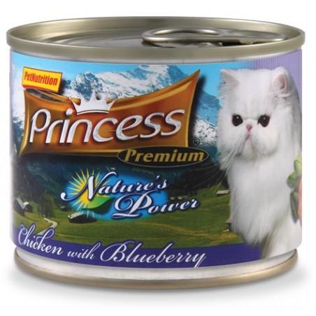 Princess Premium Nature's Power Kurczak i Borówka