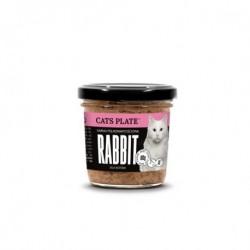 Cats Plate Rabbit - królik i indyk 100g