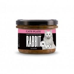 Cats Plate Rabbit - królik i indyk 180g