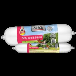 MAC's katzenwurst - Ente, Huhn & Forelle - kaczka, kurczak, pstrąg 100g
