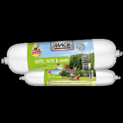 MAC's katzenwurst - Ente, Pute & Huhn - kaczka, indyk, kurczak 100g
