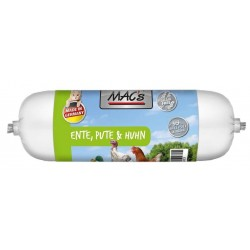MAC's katzenwurst - Ente, Pute & Huhn - kaczka, indyk, kurczak 300g