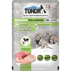 Tundra Kitten z cielęciną i kurczakiem, dla kociąt - saszetka 85 g
