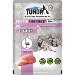 Tundra Kitten z indykiem, dla kociąt - saszetka 85 g