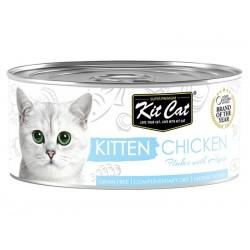 Kit Cat kitten Chicken - kurczak dla kociąt 80g