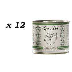 Gussto Fresh Chicken - kurczak 12 x 200g