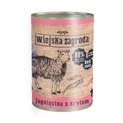Wiejska Zagroda kot Jagnięcina z krylem 400g
