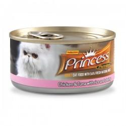 Princess Premium Cat - saszetka (tuńczyk, ryż, krewetki)
