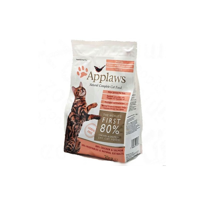 Applaws Cat kurczak i łosoś 400 g