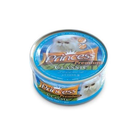 Princess Premium Puszka Tuńczyk pacyficzny i ryż