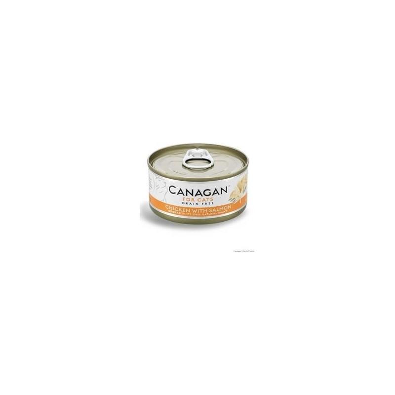 Canagan Cat Chicken end salmon