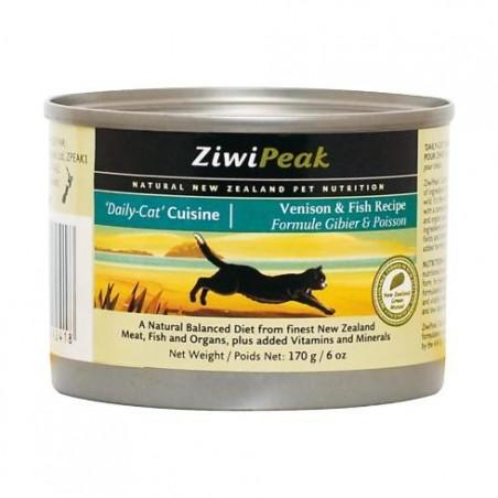 ZiwiPeak Daily Cat dziczyzna i ryba