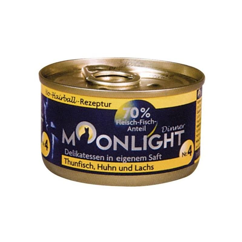 Moonlight Dinner nr 4 Tuńczyk, kurczak i łosoś
