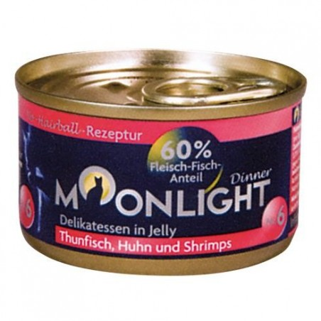 Moonlight Dinner nr 6 Tuńczyk, kurczak i krewetki w galaretce
