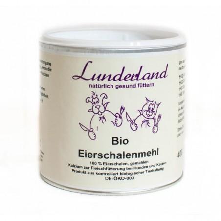 Lunderland Bio-Eierschalenmehl, skorupki ekologicznych jaj